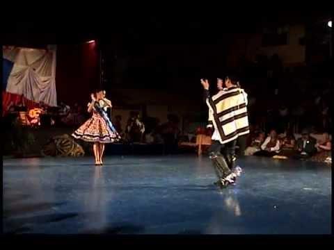 Campeones regionales adolescentes de cueca  IX región 2012