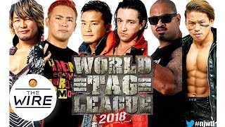 What is WORLD TAG LEAGUE 2018?