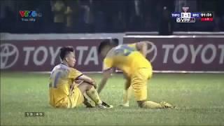 Video tổng hợp FLC Thanh Hóa-Becamex Bình Dương vòng 24 V-League 2017