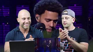 J. Cole - Be Free Live On Letterman METALHEAD REACTION TO HIP HOP!!!