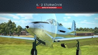 IL-2 Battle of Kuban: P-39L-1 Airacobra, M4 37mm cannon and New raindrops effect ♫