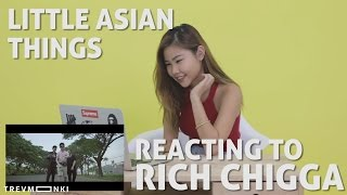 Little Asian Things: Asian Reacting to Dat $tick by Rich Chigga