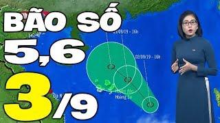 Dự báo thời tiết hôm nay và ngày mai 3/9   Dự báo thời tiết đêm nay mới nhất