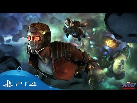 Guardians of the Galaxy - The Telltale Series | Releasetrailer | PS4