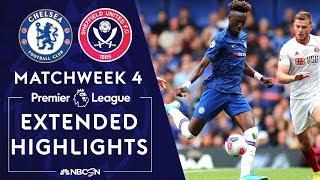 Chelsea v. Sheffield United   PREMIER LEAGUE HIGHLIGHTS   8/31/19   NBC Sports