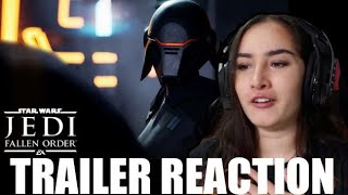 Star Wars Jedi: Fallen Order Reveal Reaction!