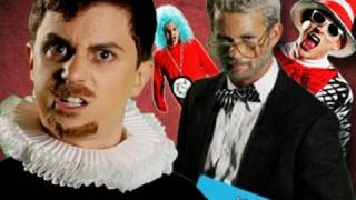 Dr Seuss VS Shakespeare. Epic Rap Battles of History #12