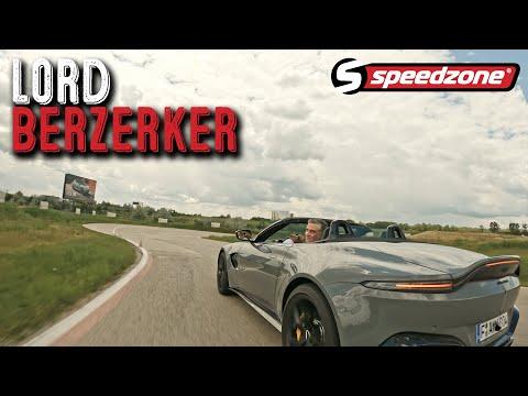 Speedzone teszt: Aston Martin Vantage Roadster (2021): Lord Berzerker