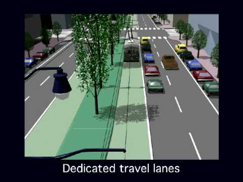 Vision of Bus Rapid Transit (BRT) for San Francisco