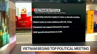 Vietnam Begins Top Political Meeting