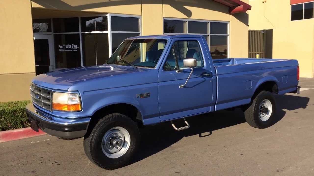 for sale 7 3 powerstroke turbo diesel 1996 4x4 livermore truck youtube. Black Bedroom Furniture Sets. Home Design Ideas