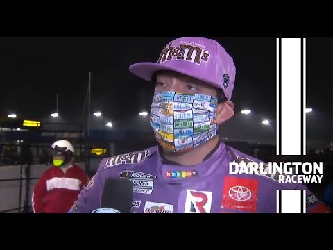 Kyle Busch: 'I made a mistake,' expects repercussions | NASCAR at Darlington