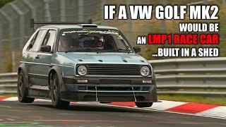 *PORSCHE EATER* The FASTEST VW GOLF 2 on The Nürburgring!!