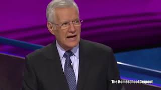 Editing out the questions on Jeopardy makes everyone look confused