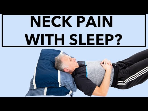 Why You Have Neck Pain with Sleep. & How to STOP IT!