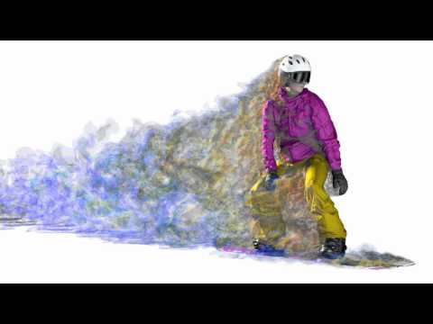 TotalSim | Snowboard DES CFD simulatation | CFD analysis by TotalSim