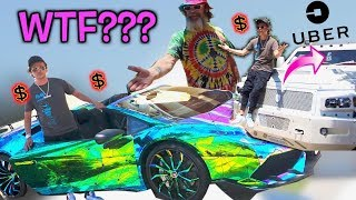 MOST EXPENSIVE BULLETPROOF UBER IN THE WORLD!!!