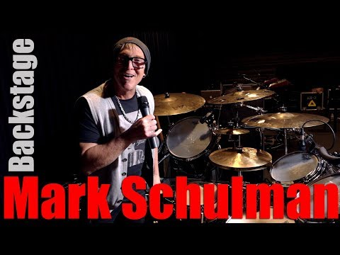 Backstage with Mark Schulman (P!nk)