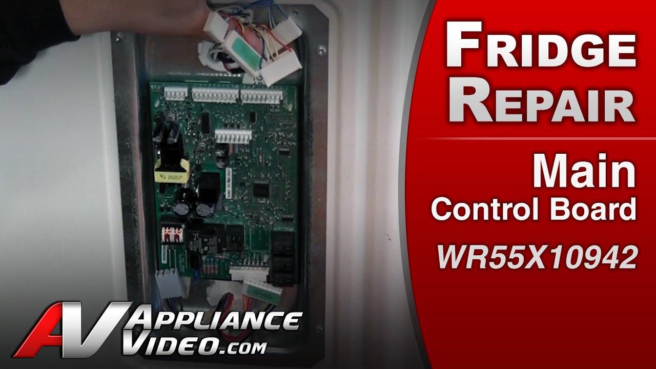 Kenmore Refrigerator Repair >> Refrigerator Repair & Diagnostic Main Control Board - GE ...