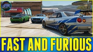 Forza Horizon 2 Online : FAST AND FURIOUS CARS!!! (Furious 7 Trailer Discussion)
