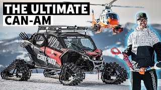Ken Block's ULTIMATE Snowcat for Backcountry: Can-Am Maverick (On Tracks!) Pre-flight Walkaround