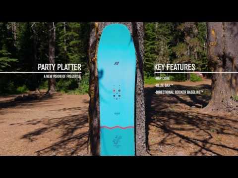 K2 Party Platter Snowboard 150