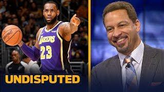 Chris Broussard calls LeBron's performance 'Michael Jordan-esque' against Spurs   NBA   UNDISPUTED