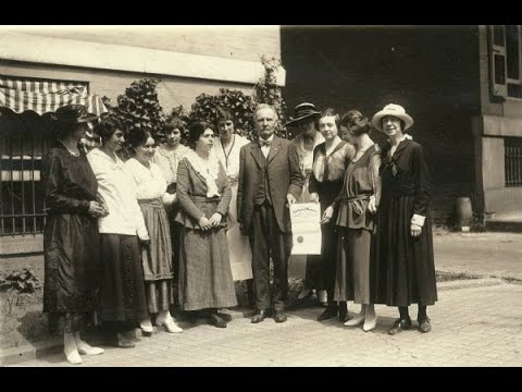 screenshot of youtube video titled Women's Suffrage Movement, Part 2 | History In A Nutshell