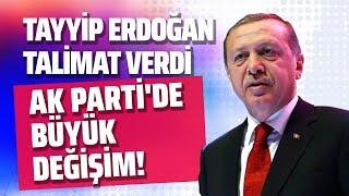 TAYYİP ERDOĞAN TALİMAT VERDİ, AK PARTİ'DE BÜYÜK DEĞİŞİM! (Hadi Özışık - İnternethaber)