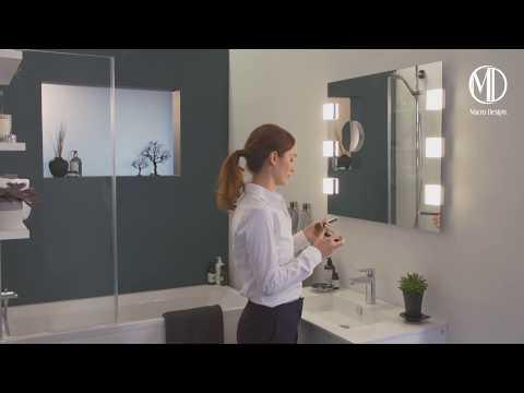 Macro Design - Uttrekkbar speil