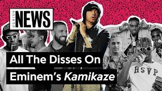 All The Disses On Eminem's 'Kamikaze' | Genius News