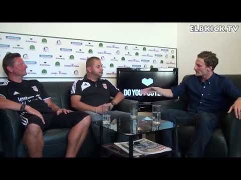 Talk mit Peter Wiehle und Cemil Yavas (beide TuS Osdorf) | ELBKICK.TV