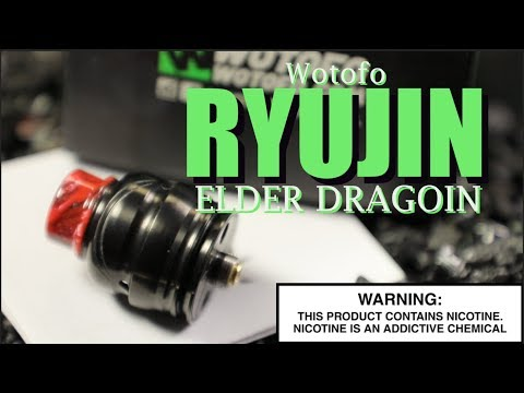 video Wotofo Ryujin Elder Dragon 22mm Bf Rda