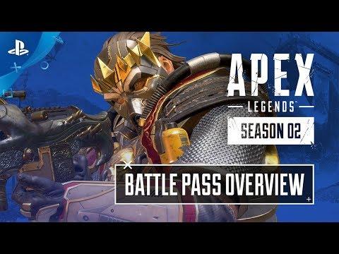Apex Legends - Season 2: Battlepass Trailer   PS4