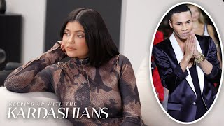 Kylie Jenner Gets Ready For Her Big Balmain Fashion Week Collab | KUWTK | E!