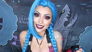 JINX Cosplay Makeup Tutorial !!!