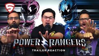 Power Rangers (2017) Official Teaser Trailer Reaction