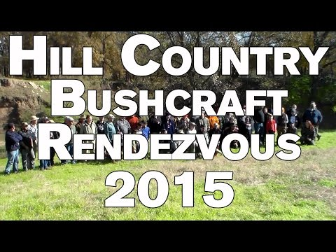 Hill Country Bushcraft Rendezvous Winter 2015
