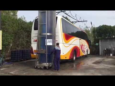 JMB VIDEO II:  Máquinas Monocepillo para Lavar Autobuses y Camiones