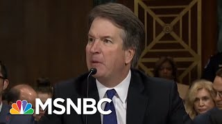 Hearing Exposes Brett Kavanaugh Temperament Problem, Credibility Issues | Rachel Maddow | MSNBC