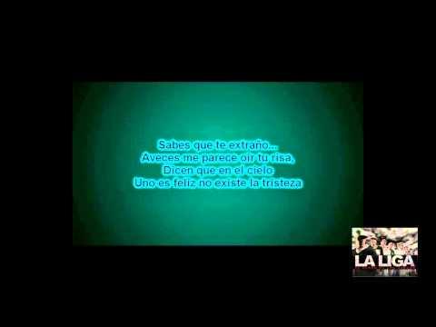 La Liga-Entre El Cielo Vos Y Yo-Letra Karaoke