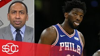 Stephen A. 'disgusted' by 76ers' opening-night performance vs Celtics | SportsCenter