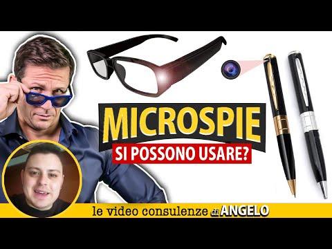 MICROSPIE in penne e occhiali: è lecito usarli? | Avv. Angelo Greco