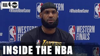 The Inside Crew Reacts to LeBron Finishing 2nd in MVP Voting   NBA on TNT