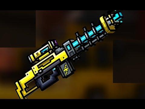 Pixel Gun 3D - Electro Blast Rifle