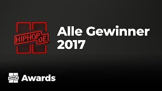 Alle Gewinner der Hiphop.de Awards 2017 presented by Ultimate Ears