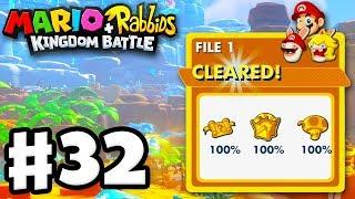 100% Complete! - Mario + Rabbids Kingdom Battle - Gameplay Walkthrough Part 32