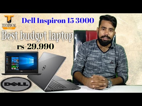 video Dell Inspiron 15 3000 Core i3 7th Gen 3584 Laptop (Windows 10 Home)