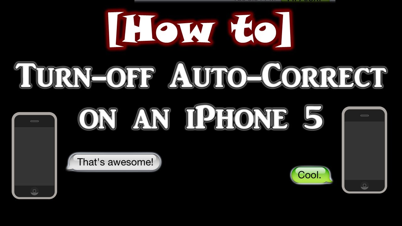 auto rotate iphone how to turn auto correct on an iphone 4s 5 6058
