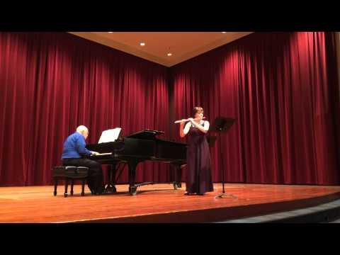 "3rd Mvt of the Reinecke ""Undine"" Sonata, performed April 2014 in the SFSU Flute Studio Recital.  Piano, Steve Damonte."